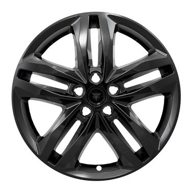 "Chevrolet Equinox Black Wheel Skins Hubcaps Wheel Covers 19"" IWCIMP415BLK 5832 2018 2019 2020 SET OF 4"