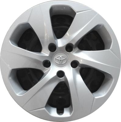 H61186 Toyota RAV4 OEM Silver Hubcap/Wheelcover 17 Inch #4260242040